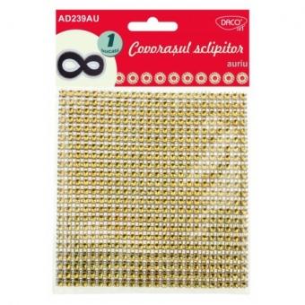 Accesorii craft - AD239 Covorasul sclipitor auriu DACO