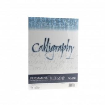 Hartie caligrafica A4 190g alb Pergamena FAVINI