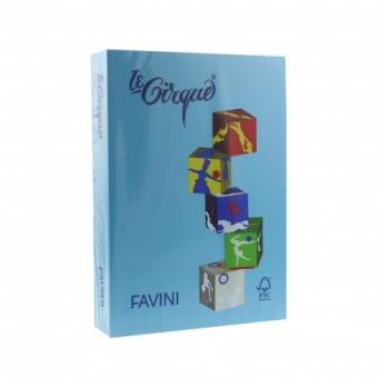 Carton color 160 g/mp A4 albastru inchis Favini 204