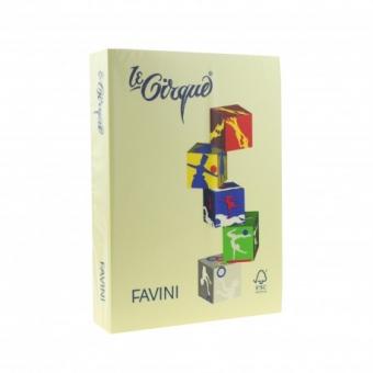 Carton color 160 g/mp A4 galben deschis Favini 100