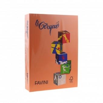 Carton color 160 g/mp A4 portocaliu Favini 205