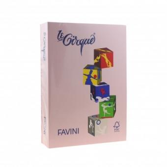 Carton color 160 g/mp A4 roz Favini 108