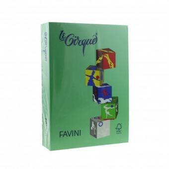 Carton color 160 g/mp A4 verde inchis Favini 208