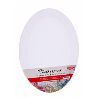 Panza pictura pe sasiu oval  56 x 80 cm DACO PZO5680