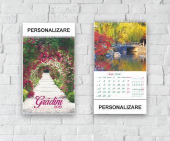 Calendar Gradini 2019