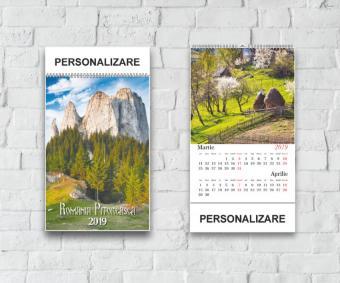 Calendar Romania Pitoreasca 2019