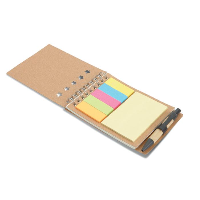 Carnețel cu pix/notițe adezive MO8107-13