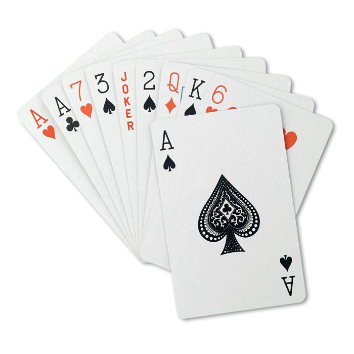 Cărţi de joc în cutie plastic  MO8614-04