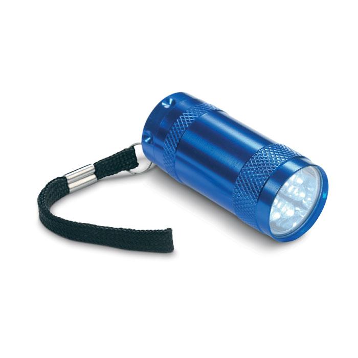Mini-lanternă aluminiu+lanyard MO7680-04