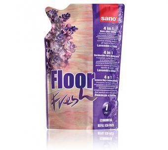 Detergent pardoseli Sano Floor Fresh Lavanda & Lilac 750ml - rezerva