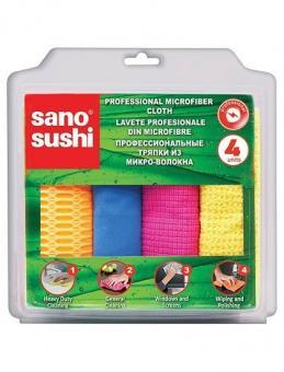 Laveta microfibra profesionala Sano Sushi 4buc
