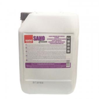 Detergent pentru geamuri  Sano Clear 10L