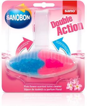 Odorizant WC Sano Bon Double Action 55g - Flower