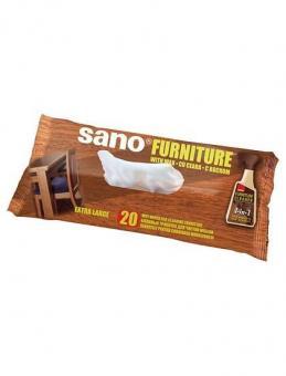 Servetele umede mobila Sano Furniture Cleaning Wipes 20