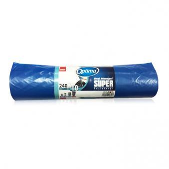 Saci menaj 240L,10buc, 115*130 Sano Optima Super albastri