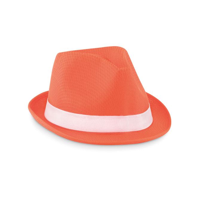 Pălărie colorată din paie      MO9342-10