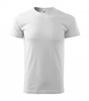 Tricou pentru bărbaţi Basic 129 - alb 4XL