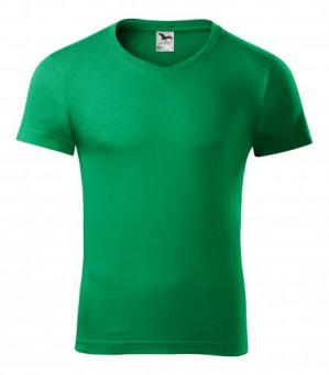Tricou pentru bărbaţi Slim Fit V-neck 146