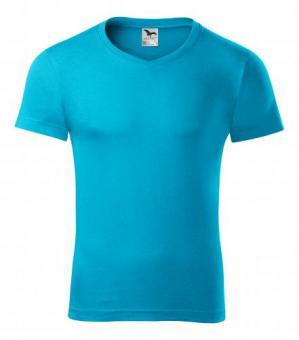 Tricou pentru bărbaţi Slim Fit V-neck 146 - 3XL color