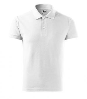 Tricou polo pentru bărbaţi Cotton 212 - alb