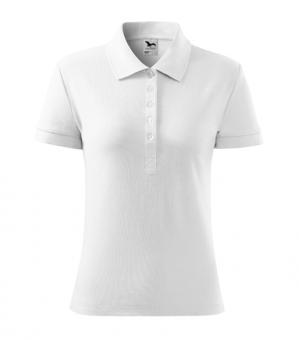 Tricou polo pentru damă Cotton 213 - alb