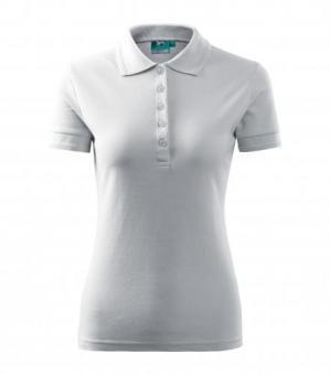 Tricou polo pentru damă Pique Polo 21A - alb