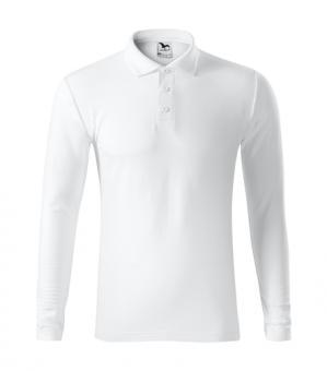 Tricou polo pentru bărbaţi Pique Polo LS 221 - alb