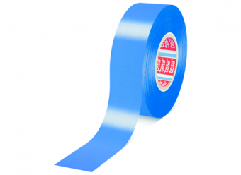 Banda Adeziva Pentru Marcare Tesaflex 60760 50 mm Albastru