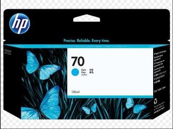 HP 70 DESIGNJET  CYAN C9452A