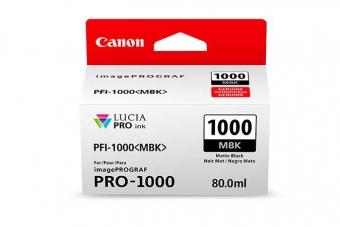 CANON PFI-1000MBK MATBK INKJET CARTRIDGE