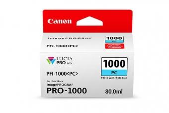 CANON PFI-1000PC CYAN INKJET CARTRIDGE