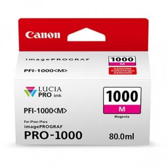 CANON PFI-1000M MAGENTA INKJET CARTRIDGE