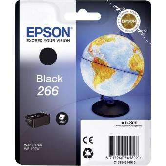 EPSON 266 BLACK INKJET CARTRIDGE