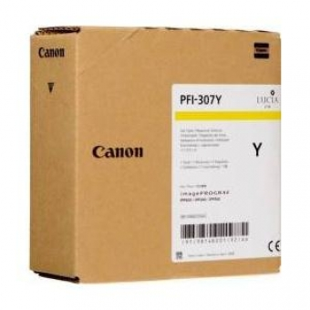 CANON PFI-307Y YELLOW INKJET CARTRIDGE