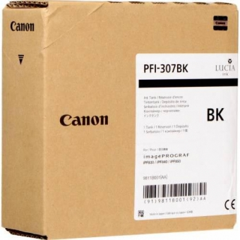 CANON PFI-307B BLACK INKJET CARTRIDGE