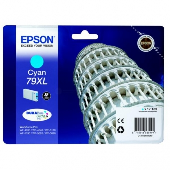 EPSON 79XL CYAN INKJET CARTRIDGE