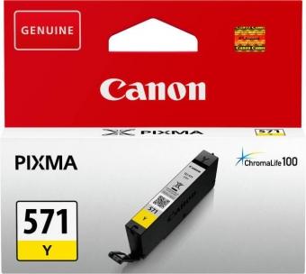CANON CLI-571Y YELLOW INKJET CARTIDGE