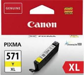 CANON CLI-571XLY YELLOW INKJET CARTRIDGE