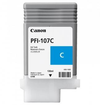 CANON PFI-107C CYAN INKJET CARTRIDGE