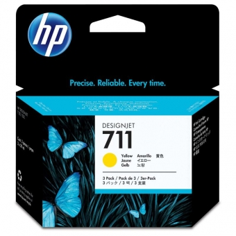 HP CZ136A YELLOW INKJET CARTRIDGE
