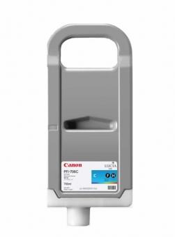 CANON PFI-706C CYAN INKJET CARTRIDGE