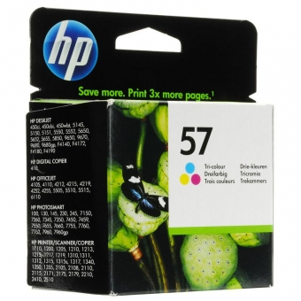 HP C6657AE COLOR INKJET CARTRIDGE