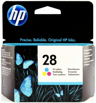 HP C8728AE COLOR INKJET CARTRIDGE