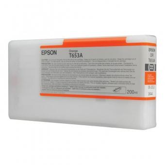EPSON T653A ORANGE INKJET CARTRIDGE