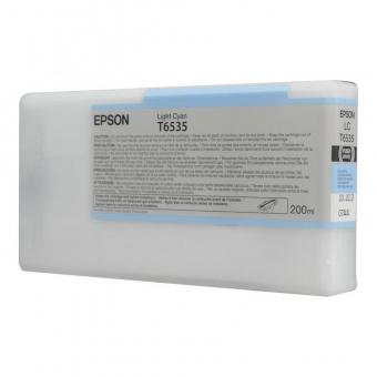 EPSON T6535 LIGHT CYAN INKJET CARTRIDGE