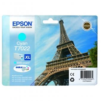 EPSON T70224 CYAN INKJET CARTRIDGE