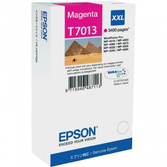 EPSON T7013 MAGENTA INKJET CARTRIDGE
