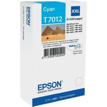 EPSON T7012 CYAN INKJET CARTRIDGE