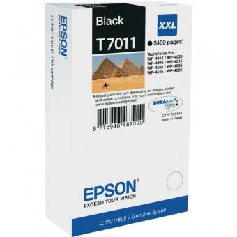 EPSON T7011 BLACK INJET CARTRIDGE