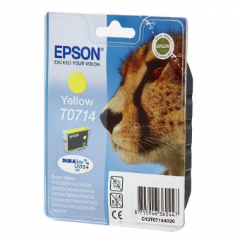 EPSON T0714 YELLOW INKJET CARTRIDGE